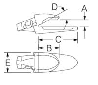 Navařovací adaptér ESCO U30