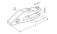 Adaptér typu CATERPILLAR E 304