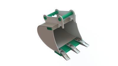 Podkopová lopata Pt1-040 N.A1. pro MS 01 (Symlock)