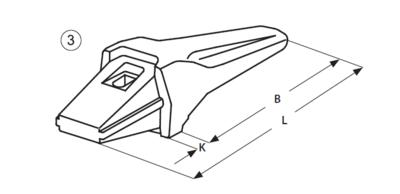 Adaptér typu Esti E 763 - 1
