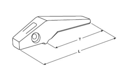 Adaptér typu CATERPILLAR E 312