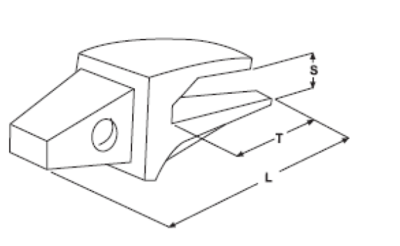 Adaptér typu CATERPILLAR E 321