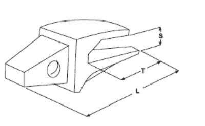 Adaptér typu CATERPILLAR E 326.1