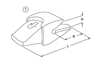 Adaptér typu ESCO E 445