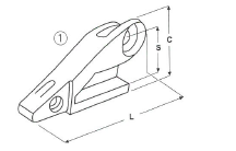 Adaptér typu CATERPILLAR E 303 L