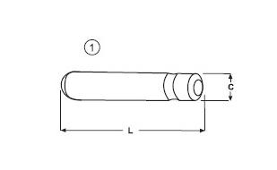 Zajišťovací kolík typu CATERPILLAR E 370