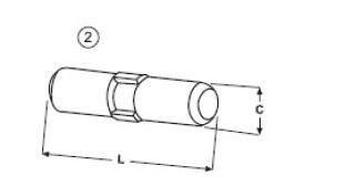 Zajišťovací kolík typu Komatsu E 490